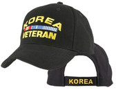 Korea Veteran Direct Embroidered Ball Cap