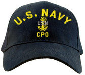 US Navy CPO Direct Embroidered Cap