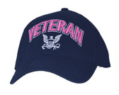 Navy Logo with 3D Text Ball Cap
