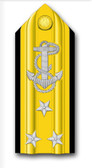 Navy Vice Admiral Vinyl Transfer Decal