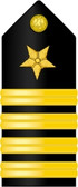 Navy Captain Shoulder Board Decal