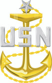 Navy Senior Chief Petty Officer (SCPO) Decal
