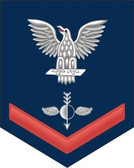 Navy E-4 Decal With Your Rating Insignia
