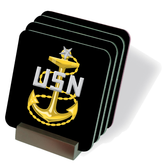 Senior Chief Petty Officer (SCPO) Drink Coasters