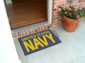 """US Navy Door Mat (19""""x30"""")"""
