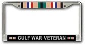 Gulf War License Plate Frame