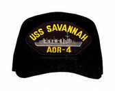 USS Savannah AOR-4 Ship Custom Embroidered Cap