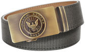 U.S. Navy Grey Nylon Weave Slide Belt