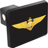 U.S. Navy Pilot Wings Hitch Cover