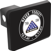 Pearl Harbor and 9/11 Anniversary Hitch Cover