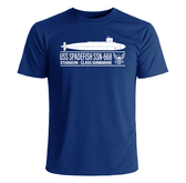 USS Spadefish SSN-668 T-Shirt
