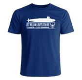USS William H Bates SSN-680 T-Shirt