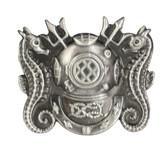 Master Diver Breast Insignia Mini Lapel Pin