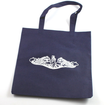 Submarine Dolphins Insignia Shopping Bag