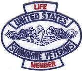 "USSVI 3"" Life Member Patch"