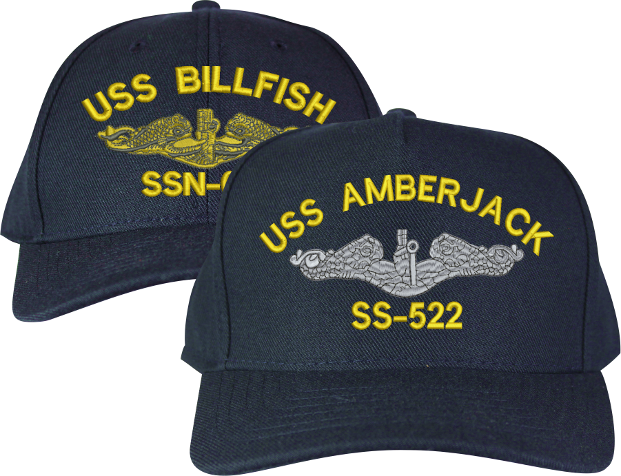 Completely Custom Submarine Ball Cap