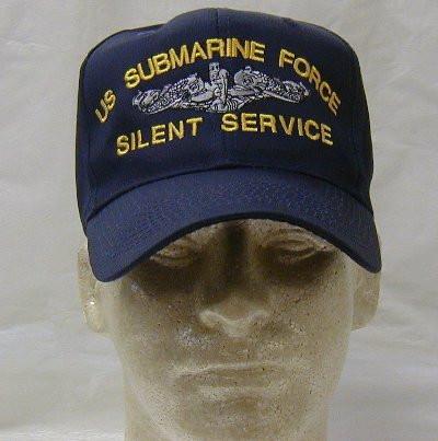 US Submarine Force Silent Service Ball Cap e63c2a949e1b