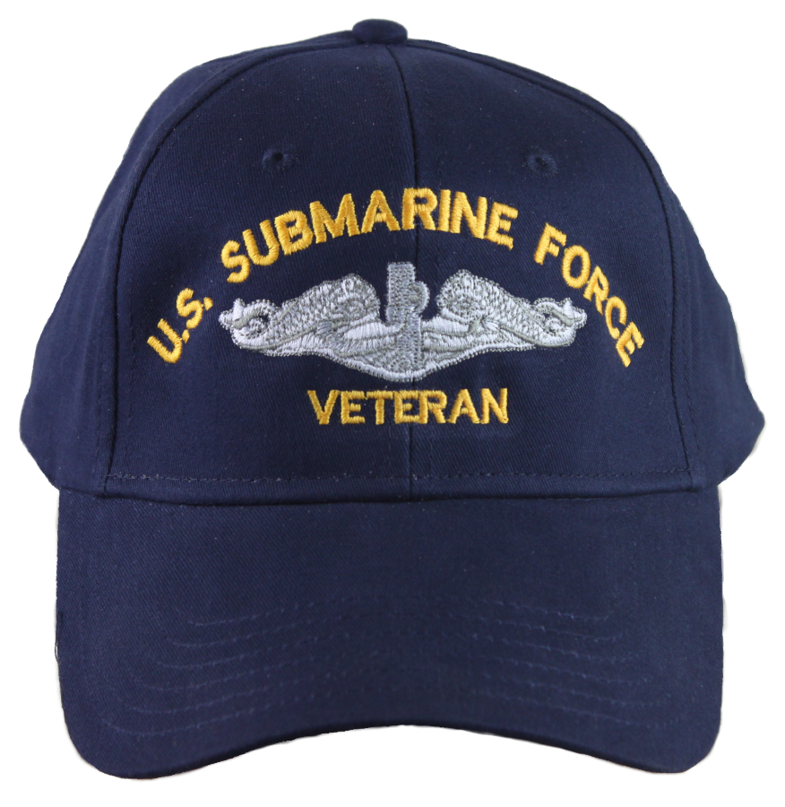 US Submarine Force Veteran Ball Cap. Image 1. Loading zoom 943a02340e2