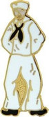 Lone Sailor Lapel Pin