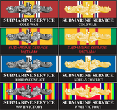 War Service Decals