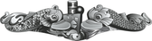 Enlisted Silver Submarine Dolphin Decal