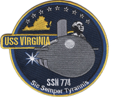 USS VIRGINIA Patch