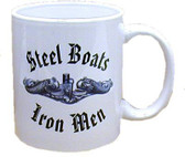 Steel Boats/Iron Men Submarine Coffee Mugs