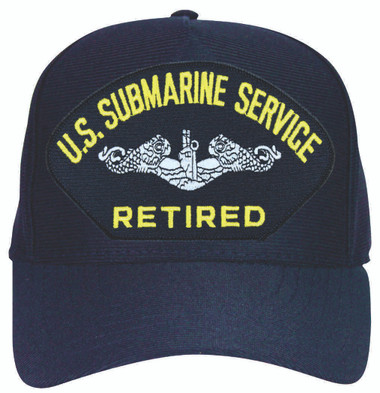 Made in the USA Enlisted Submarine Service Retired Cap