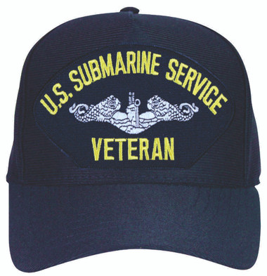 Made in the USA Submarine Service Veteran Cap