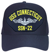 Made in the USA USS Connecticut SSN-22 cap