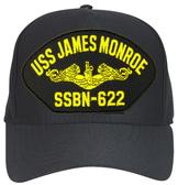 USS James Monroe SSBN-622 ( Gold Dolphins ) Submarine Officer Cap
