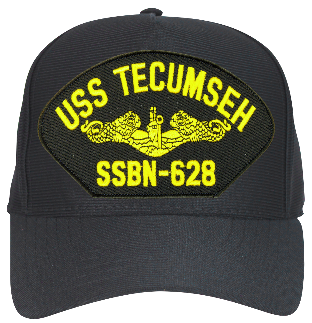 USS Tinosa SSN-606 Ball Cap Embroidered Submarine Dolphins Veteran Navy Sub Hat