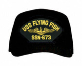 USS Flying Fish SSN-673 ( Gold Dolphins ) Submarine Officers Cap