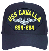 USS Cavalla SSN-684 ( Silver Dolphins ) Submarine Enlisted Cap