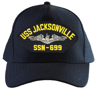 Embroidered Military Patch U S Navy ship Submarine USS Jacksonville SSN-699 NEW