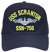 USS Scranton SSN-756 ( Silver Dolphins ) Submarine Enlisted Cap