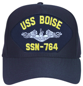 USS Boise SSN-764 ( Silver Dolphins ) Submarine Enlisted Custom Embroidered Cap