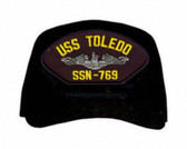 USS Toledo SSN-769 ( Silver Dolphins ) Submarine Enlisted Cap