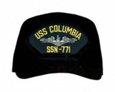 USS Columbia SSN-771 ( Silver Dolphins ) Submarine Enlisted Cap