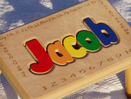 Alphabet Puzzle Stool