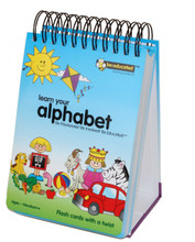 ABC Flash Card Book