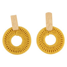 Mini Earrings Yellow