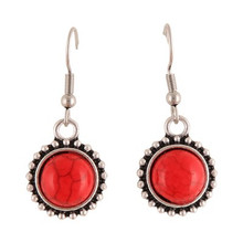 Yalata Earrings Red