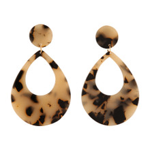 Soho Earrings Horn Tear