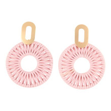 Sherbet Earrings Pink