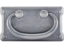 "3"" Mission Plate Pull - Pewter Light TKM233"