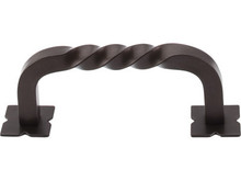 "3"" Twist D Pull w/Backplates - Oil Rubbed Bronze TKM783"