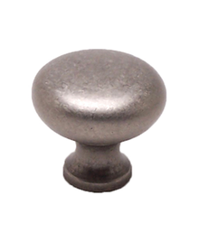 "Knob 1-3/16"" Weathered Nickel BE9942-1WN-P (BE9942-1WN-P)"