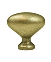 Knob Oval Weathered Copper BE9935-1WC-P (BE9935-1WC-P)