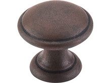 Knob Rounded - Patina Rouge TKM1225 (TKM1225)